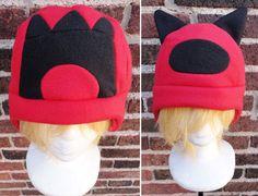 Team Magma Pokemon Hats  Halloween Costume Accessory by Akiseo