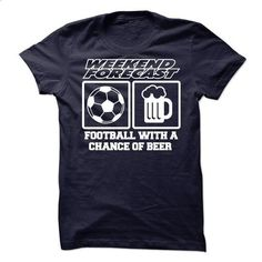 FOOTBALL WITH A CHANCE OF BEER - #striped tee #sweater dress outfit. BUY NOW => https://www.sunfrog.com/Funny/FOOTBALL-WITH-A-CHANCE-OF-BEER.html?68278
