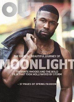 Trevante Rhodes para OUT Magazine, Marzo 2017