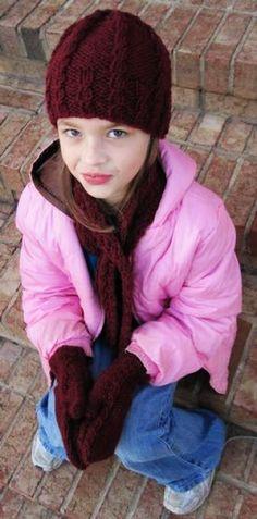 Knit pattern: Marlie Winter Set