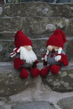 Diy Christmas Gifts For Kids, Christmas Gnome, Christmas Knitting, All Things Christmas, Christmas Crafts, Christmas Ornaments, Crochet Pouf, Crochet Mandala Pattern, Crochet Toys Patterns