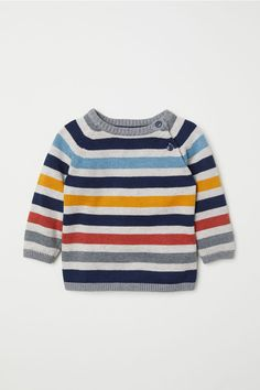 H&M Fine-knit Cotton Sweater - Yellow Discount Kids Clothes Online, Cheap Kids Clothes, Baby Dress Clothes, Cardigan Bebe, Kids Clothing Brands, Clothing Stores, Kids Fashion Photography, Cotton Sweater, Boy Fashion