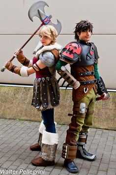 How to Train Your Dragon #cosplay at Romics XVII - PC: Walter Pellegrini