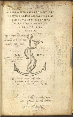 Cortegiano (Venice, 1541)