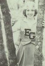 Cheerleader Leesa Cheatwood in the 1978 yearbook of Eau Gallie High School Yearbook in Melbourne, Florida.