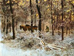 Rien Poortvliet (Netherlands 1932-1995)- Forest Harvest