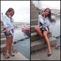 Paula Echevarria. Look casual.