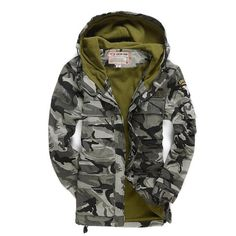 Aggressive Hooded Zipper Coats Baby Warm Jackets Toddler Baby Girl Boy Camouflage Print Winter Warm Jacket Hooded Windproof Coat Online Discount Mother & Kids Outerwear & Coats
