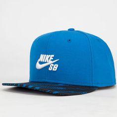 NIKE SB Zebra Mens Snapback Hat Sb Logo 283df76fde2