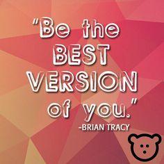 Be happy. Be bright. Be you.  #beyourself #beYOUtiful #BearlyMarketing
