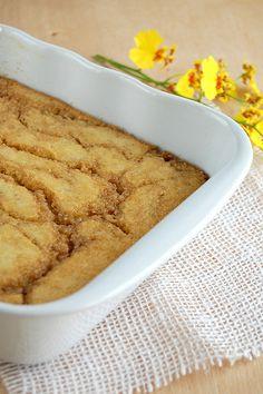 Banana butterscotch pudding cake