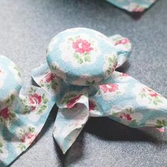 HOME-DZINE | When wrapping knobs with fabric, secure with an elastic band while you glue onto the knob and coat with clear acrylic sealer or ModPodge. When dry, remove the elastic and trim away excess fabric at the back of the knob. Smooth and cover with clear acrylic sealer or ModPodge.