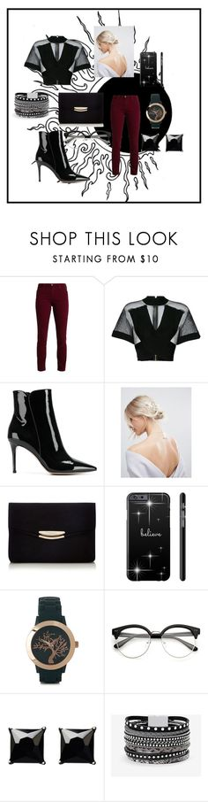 """Becoming Eclipse"" by alexis-kitten on Polyvore featuring Balmain, Gianvito Rossi, ASOS, Pilgrim, Witchery and White House Black Market"