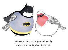 Little Doodles: Na na na na na na na na BATMAN