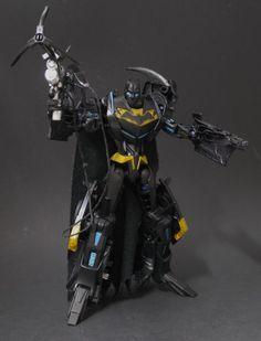 Batman / Batmobile Transformer Custom Action Figure