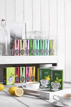 Faves are green tea with peppermint, lemon, manuka honey, aloe Vera and nettle. Tea Packaging, Packaging Design, Clipper Tea, Pure Green Tea, Prop Styling, Pause, Green Bag, Pretty Cool, Afternoon Tea