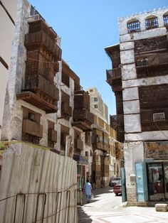 Saudi Arabia: </br>Coral Houses of Jeddah's Old Town   Minor Sights
