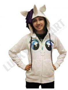 Sudadera My Little Pony Rarity Face P/ Niñas Varias Tallas - $ 1,550.00 en MercadoLibre