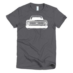 1977 Chevrolet C10 Pickup Truck - Modern Rodder - Women's T-Shirt