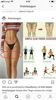 10 Min Inner Thigh Workout with No Equipment - - Fitness trainingsplan - Fitness Workouts, Thigh Workouts At Home, Body Workout At Home, Fitness Motivation, Mini Workouts, Slim Thighs, Thigh Exercises, Stretches, Inner Thigh