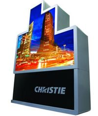 Christie MicroTiles; DLP/LED integrated projection cubes