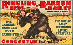 Old Circus Posters | Circus Poster Ringling Bros. and Barnum & Bailey