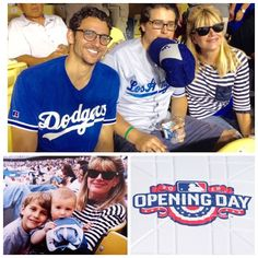 THINK BLUE: Happy Opening Day! 20 years of wonderful memories. Same sweet sons same shirt same shades same hairstyle - whaaat??  same stadium. GO DODGERS!  #openingday #dodgers #dodgerstadium #baseball #happyopeningday #april #family #fun #goodtimes #love #sons #proudmom #americaspasttime #chavezravine #gododgers #instagood by sandienewton