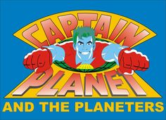 Captain Planet and the Planeteers by liferuller on deviantART 80s Logo 208a61212a11a