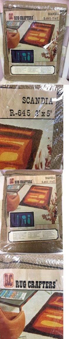 Other Rug Making Supplies 160672 Rc Crafters Scandia 3 X 5 Vintage 60 S