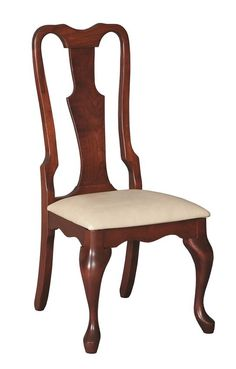 Amish Lancaster Queen Anne Dining Chair.  $472.40 with selections.  $50 more for arms.