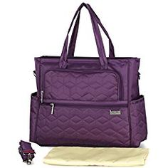 Purple Diaper Bags