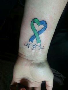 NF tattoo