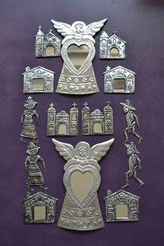 Mexican tin art