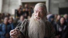 Le Hobbit : les acteurs et leurs figurines LEGO  Sir Ian McKellen