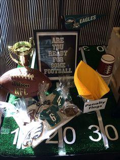 My son's Philadelphia Eagles party!!