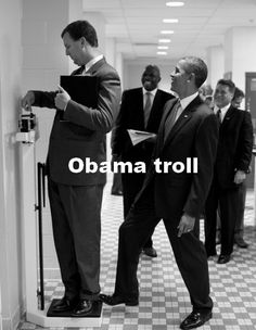 Obama troll
