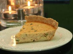 Coconut & Lime: Smoked Salmon Quiche with an Old Bay Asagio Crust