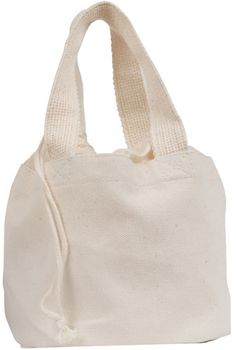 I love this bag I could embelish it and make it my own from: ECOBAGS Organic Spa Bag