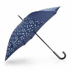 Reisenthel - umbrella spots navy - Mebracelet #paraplu #spotsnavy #blauweparaplu #reisenthel #umbrella