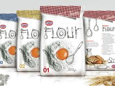 Flour (Student Work) | Packaging of the World: Creative Package Design Archive and Gallery
