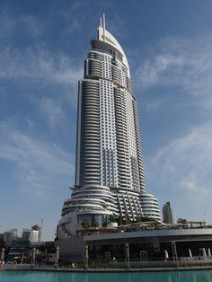 The Address Hotel @ Dubai Mall @ Downtown Dubai   Guilhem Vellut ...