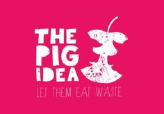 Our eight little piggies are part of The Pig Idea. The campaign against food waste was launched at the farm on 5 June 2013.