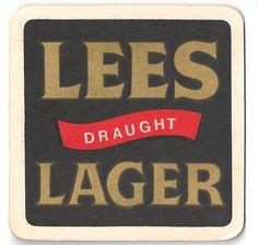 Lees larger Vintage Beer Mat