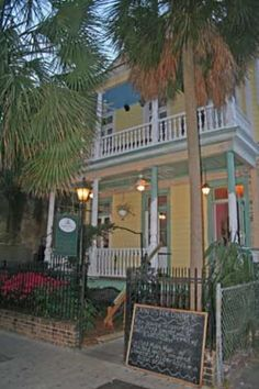 Went to this restaurant last time and will def go again! Such a cute place! ---Haunted Poogans Porch Restaurant in Charleston, South Carolina