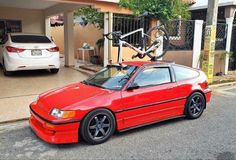 Honda Crx, Cars, Vehicles, Autos, Car, Car, Automobile, Vehicle, Trucks
