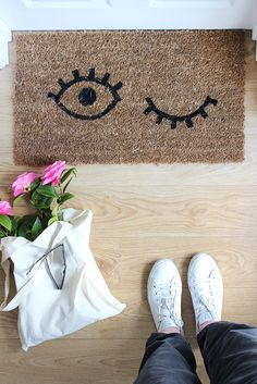 How to give a boring doormat a fun new look | Growing Spaces