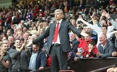 Wenger at Old Trafford