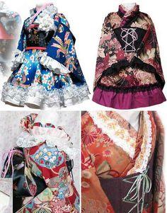 Lolita kimonos