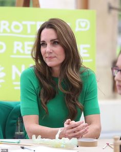 Has Kate Middleton DITCHED her signature bouncy blow dry? Duchess unveils 'mature' waves in new 'modernised' look as she prepares for future role as Queen, stylists reveal
