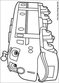 Chuggington coloring picture